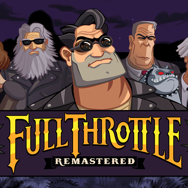 jogo full throttle remastered ps4 psvita pc super metal brothers