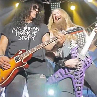 Megadeth, Slash, Zakk Wylde
