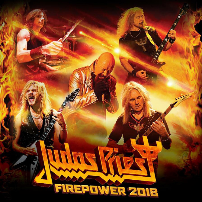 Judas Priest Firepower - Lightning Strike - Super Metal Brothers